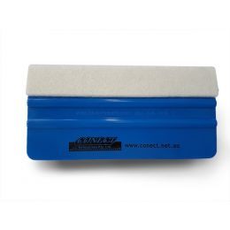 CONECT H/DUTY FELT TIP 6 BLUE SQUEEGEE