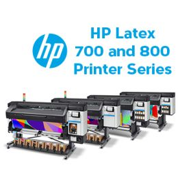 HP LATEX 700 AND 800 PRINTER SERIES