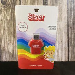SISER HOLIDAY CLIPART USB
