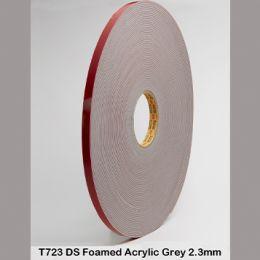 T723G GREY D/S TAPE